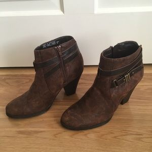 Madden Girl Brown Ankle Boots